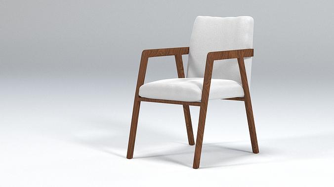 Living room design chair 3d model obj blend for New model chair design