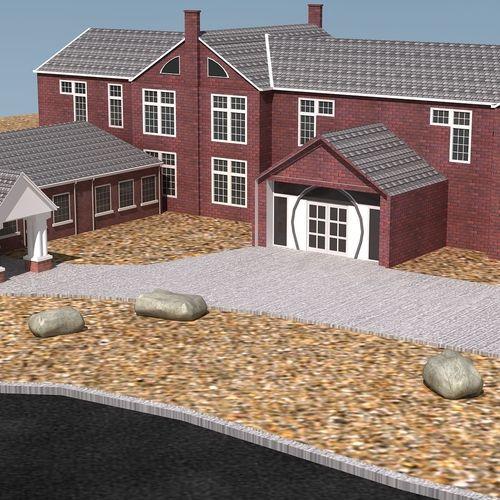 Science Lab Building3D model