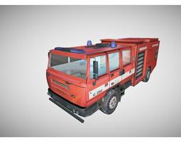 fire fighter truck 3D Model