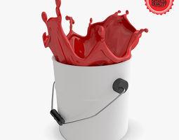 Splash Paint 3D Model