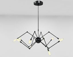 3D Spider Ceiling Light