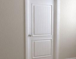 Door  3 Panel 3D Model