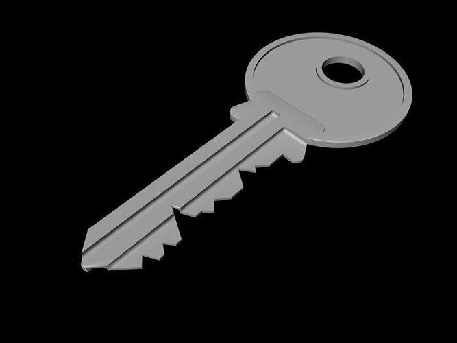 door keys 3d model c4d 1