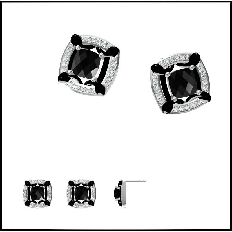 diamond earrings model - photo #42