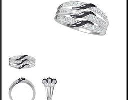 diamond ring 32 3d model