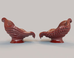 2 octopus chairs 3D Model