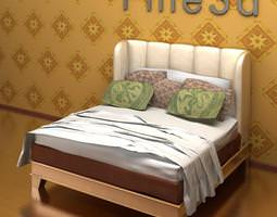 3d model antique bed 09-083