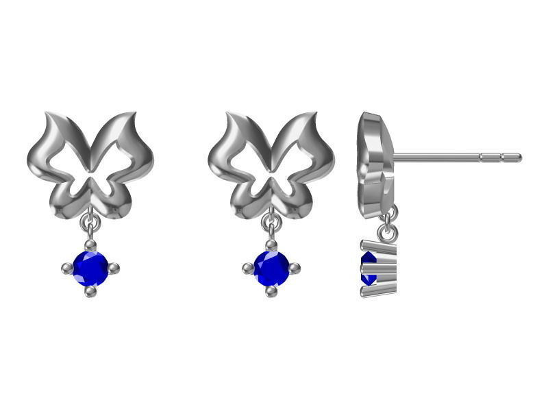 diamond earrings model - photo #8