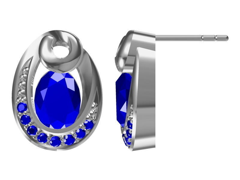 diamond earrings model - photo #14