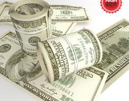 Dollard Bills 3D Model