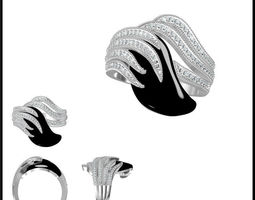 diamond ring 113 3d