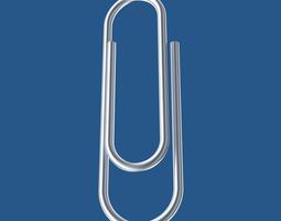 3d paperclip
