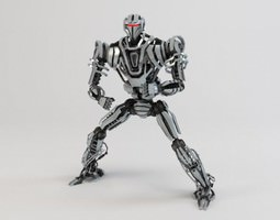Robot ZEG4000 3D Model