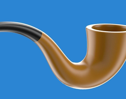 3d smoking pipe
