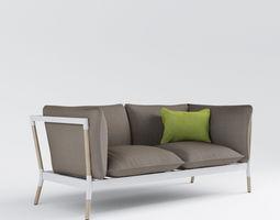 Grotto sofa 3D Model