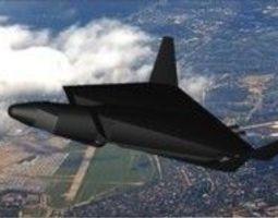 Aerospace shuttle SiR-71X DESPERADO 3D model