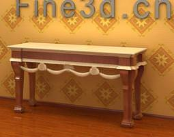 Om Console Table 029 3D Model