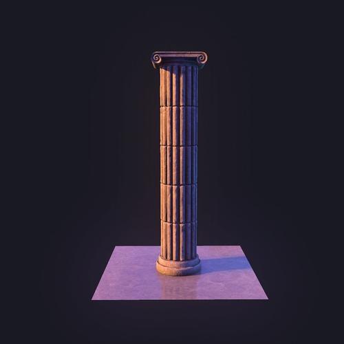 Column3D model