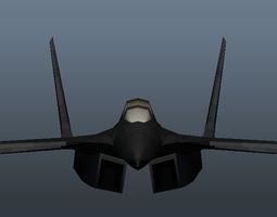 Military Airplane 3D Model