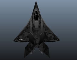 Stealth Fighter 3D Model