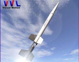 3d aerobee 100 rocket