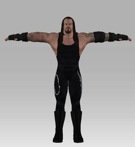 3D model WWE All Stars Undertaker 2 VR / AR / low-poly FBX ...
