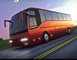 Tour Bus 3D Model