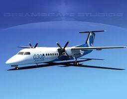 Dehavilland DHC-8 300 3D model