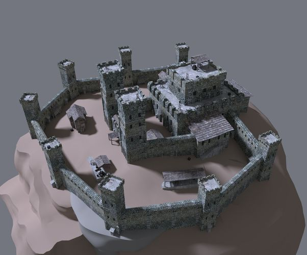 medieval 2 how to build a fort