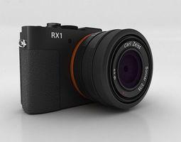 Sony Cyber-shot DSC-RX1 3D Model