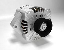 Car Dinamo 3D Model