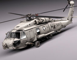 Sikorsky SH-60 Seahawk 3D Model
