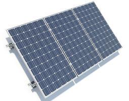 Solar Panels 01 3D Model