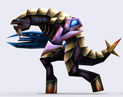 3DRT - Warbeasts Monsters Squad 3D Model