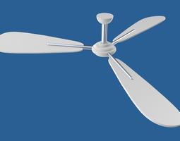 Ceiling fan object 3D model