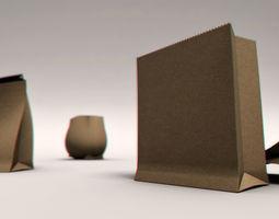 Paper Bag Rig 3D Model