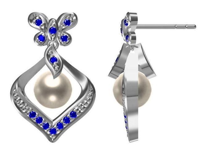 diamond earrings model - photo #10
