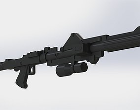 3D print model DC-15A Clone blaster rifle