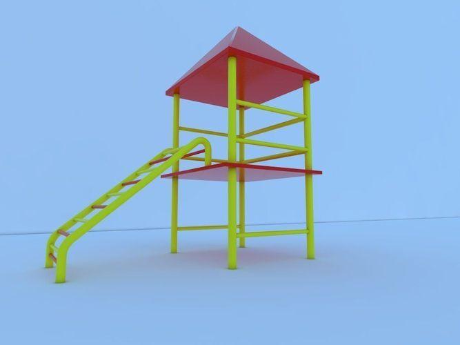 Park stand3D model