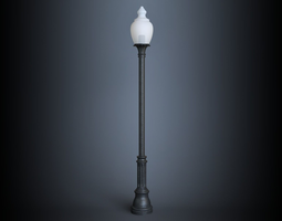 AEL 870 Bainbridge srtreet lamp 3D Model
