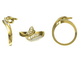 3d golden ring 113