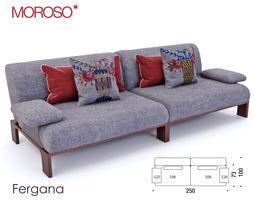Moroso - Fergana sofa 3D model