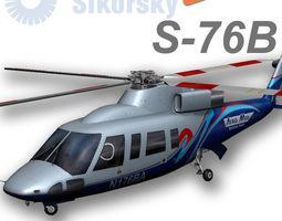 Sikorsky S-76B AeroMed 3D Model