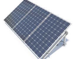 Solar Panels 02 3D Model