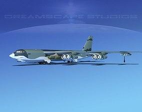 3D model Boeing B-52G Stratofortress V02