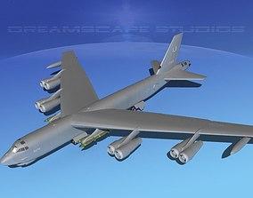 Boeing B-52G Stratofortress V03 3D