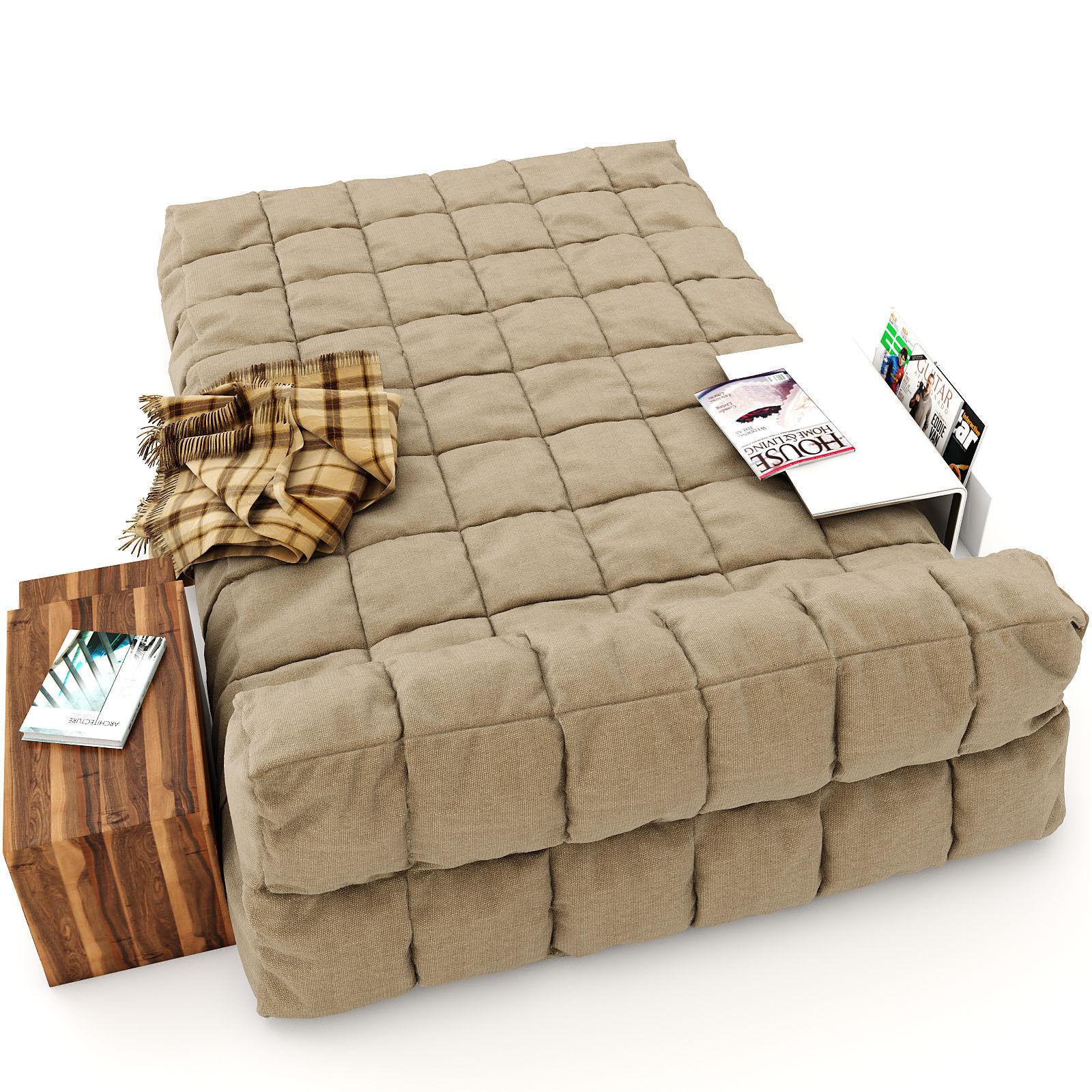 New Model Beds : 501 1 description comments 3 modern bed 3d model modern bed a