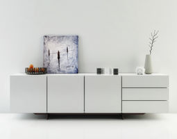 3D model Poliform Pandora Sideboard - FREE