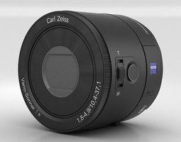 3D model Sony DSC QX100 lens module