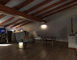 mr attic 01 3d model